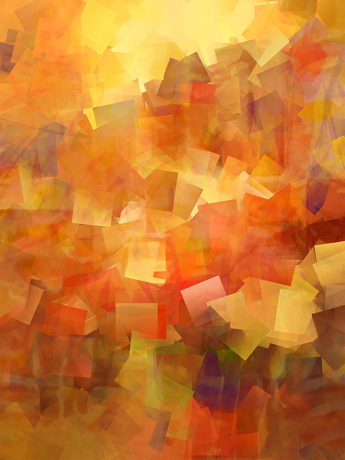 Cubic Digital Art - Cubic Lightbreak by Ann Croon