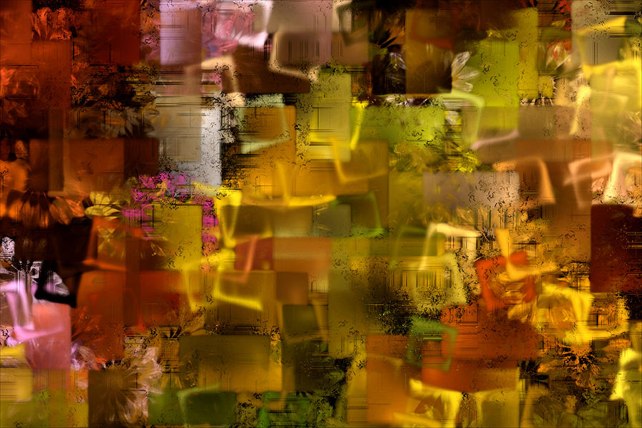 Cubist Frenzy Photograph