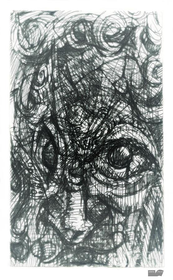 Face Digital Art - Cubisto 2 by Eddie Rifkind