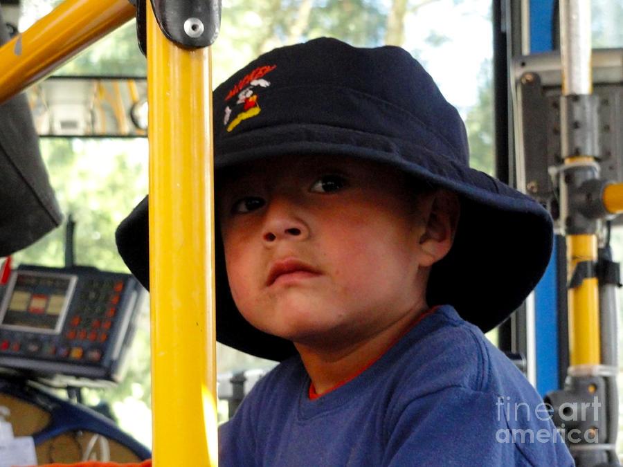 Boy Photograph - Cuenca Kids 252 by Al Bourassa
