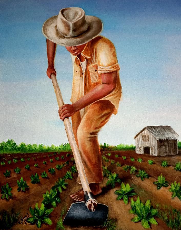 Tierra Painting - Cultivando Mi Patria by Edgar Torres