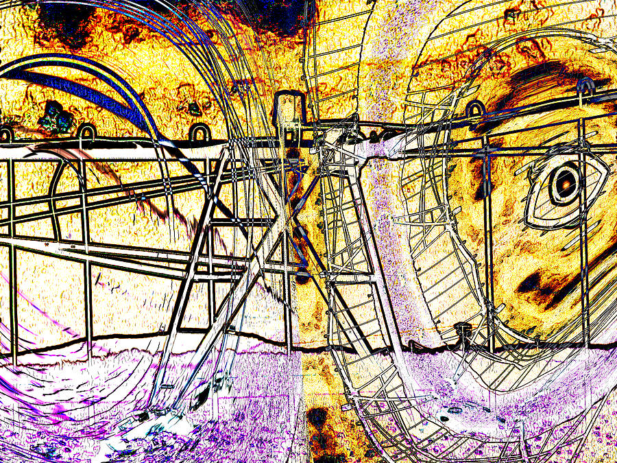 Abstract Digital Art - Cultivation by Wendy J St Christopher