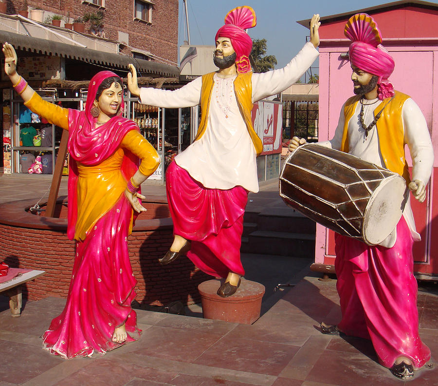 Punjab Photograph - Culture Of Punjab by Bliss Of Art