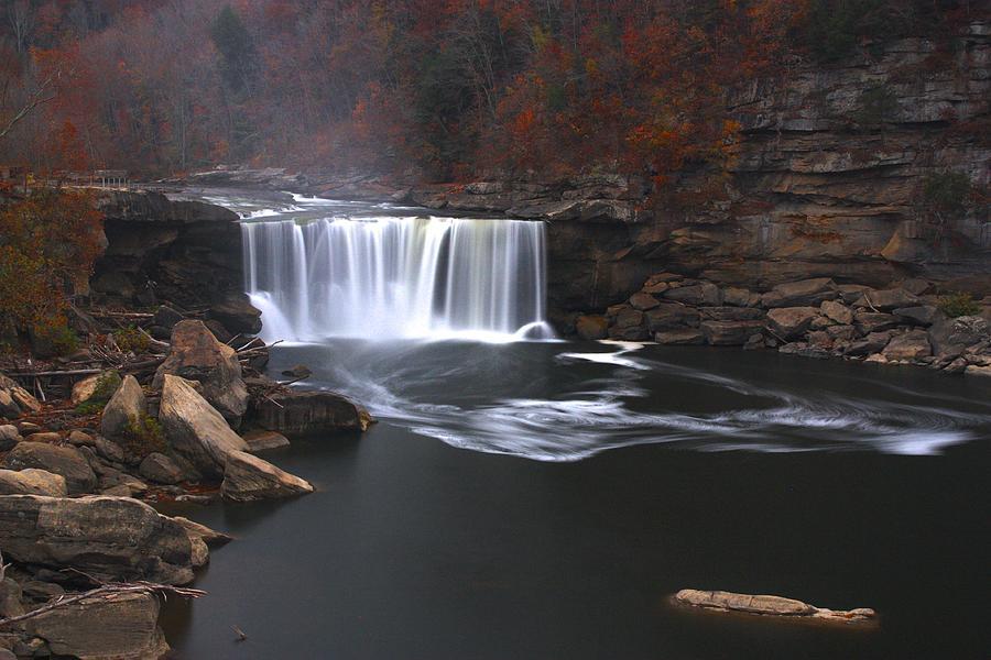 Cumberland Falls Photograph - Cumberland Falls by Nunweiler Photography