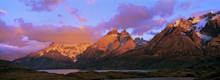 Andes Mountains Photograph - Cumbres, Torres And Cuernos Del Paine by Martin Zwick