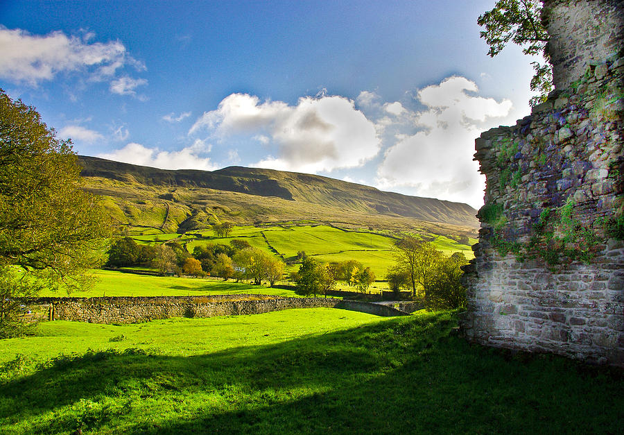 Cumbria Photograph - Cumbrian View by Trevor Kersley