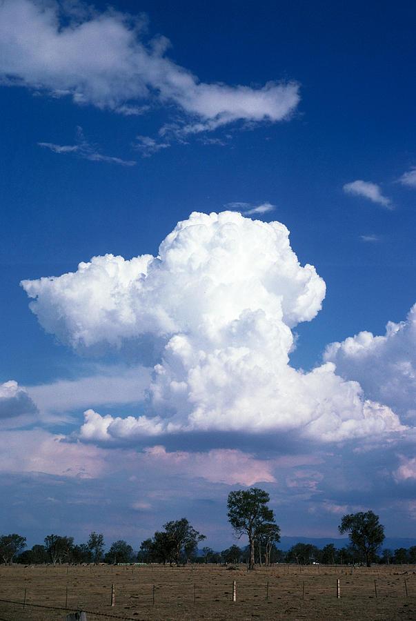 Cumulonimbus Clouds Photograph by A.b. Joyce