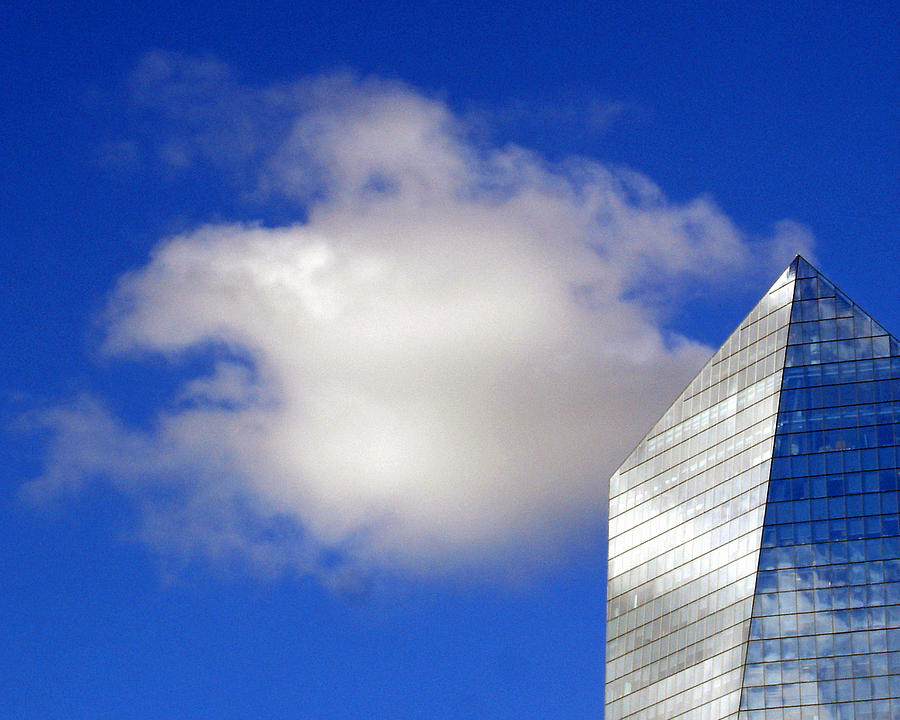 Landscape Photograph - Cumulus And Cira by Lisa Phillips