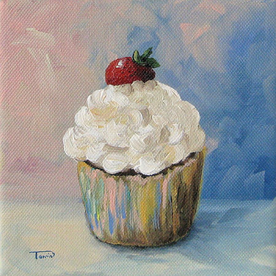 Cupcake Painting - Cupcake 005 by Torrie Smiley
