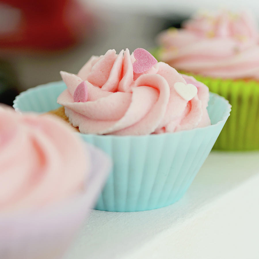 Cupcakes Photograph by Dhmig Photography