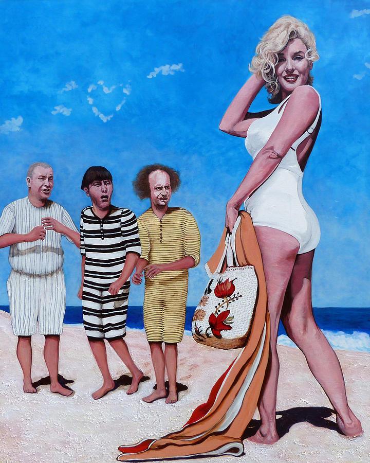 Marilyn Monroe Painting - Cupids Arrow by Tom Roderick