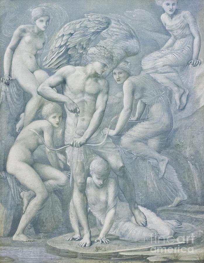 Burne Photograph - Cupids Hunting Fields By Edward Burne Jones by Roberto Morgenthaler
