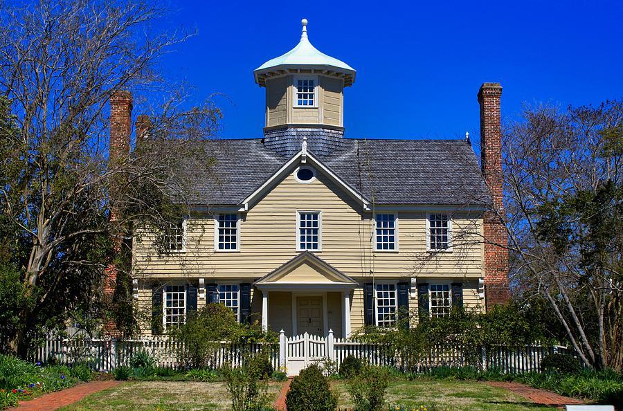 House Photograph - Cupola House by Carolyn Ricks