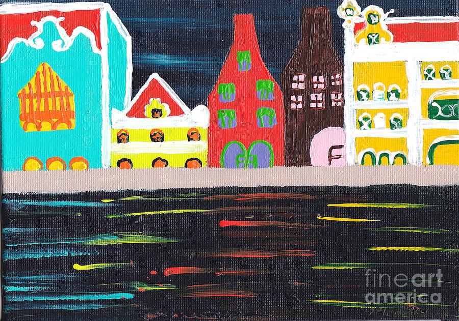 Curacao Painting - Curacao Blue  by Melissa Vijay Bharwani