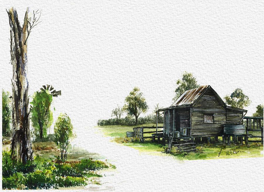 Queensland Digital Art - Curra 1 by Lynne Wilson