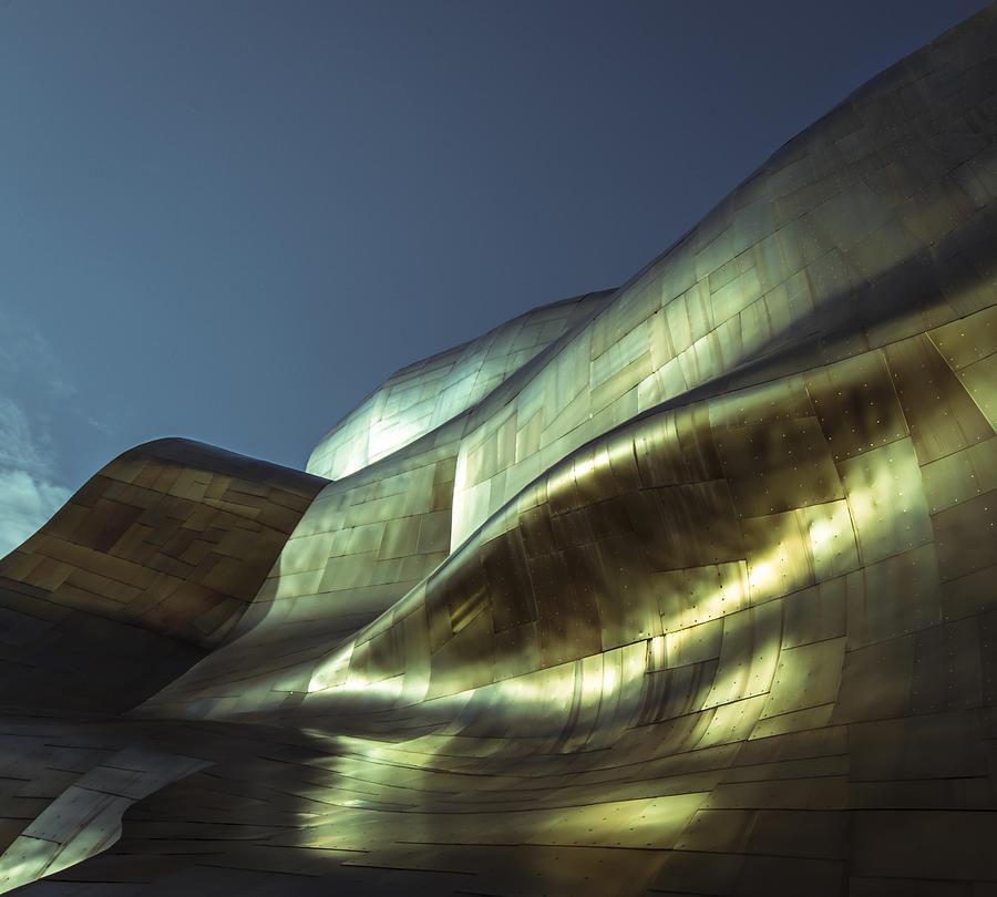 Seattle Photograph - Curves by Akos Kozari