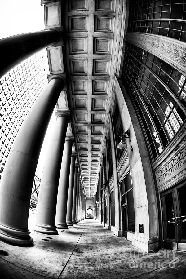 Curves At Union Station Photograph - Curves At Union Station by John Rizzuto