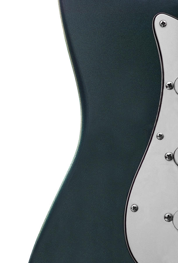 Guitar Photograph - Curves by Jessica Wakefield