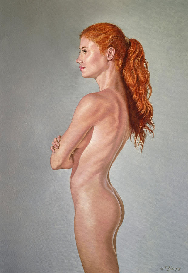 Figure Painting - Curves by Paul Krapf