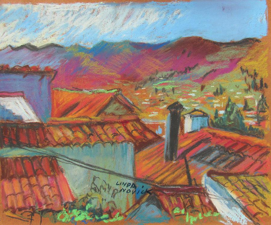 Cuzco Rooftops by Linda Novick