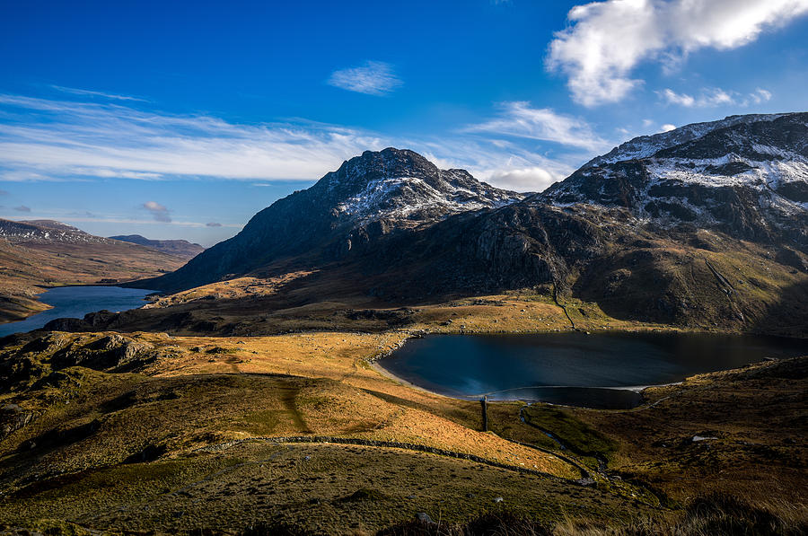 Cwym-idwal And Tryfan Photograph by Regie Marshall