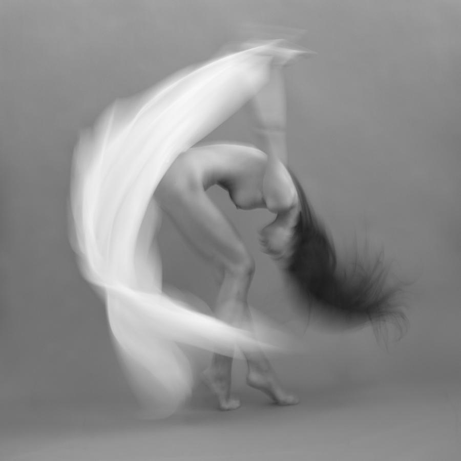 Fine Art Nude Photograph - Cycle by Dieterplogmann