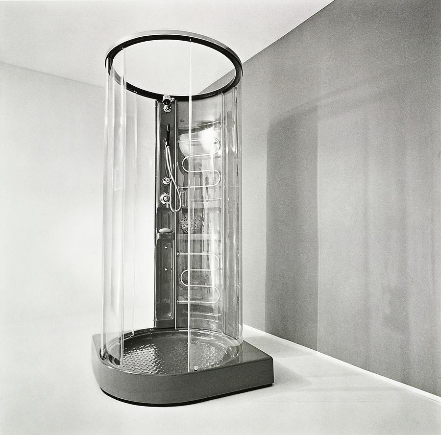 Cylindrical Shower By Fabio Lenci Photograph by Tom Yee