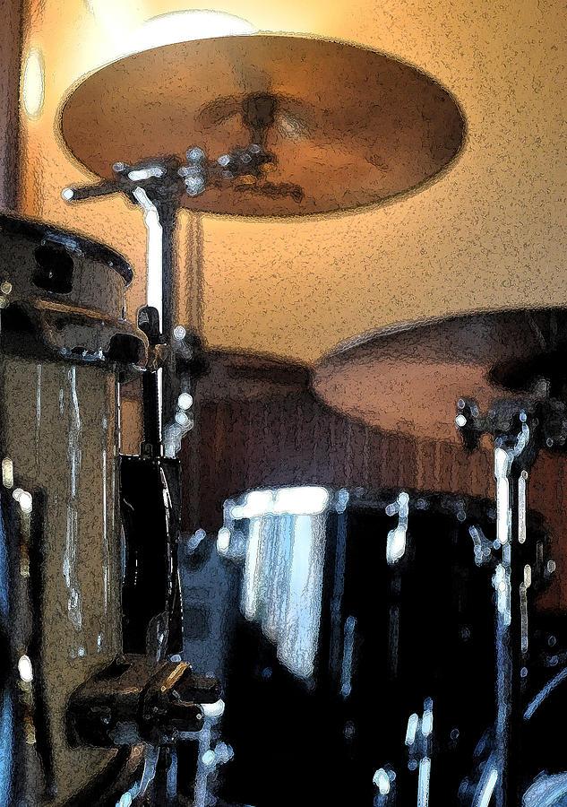 Zildjian Photograph - Cymbal Of Authority by Everett Bowers