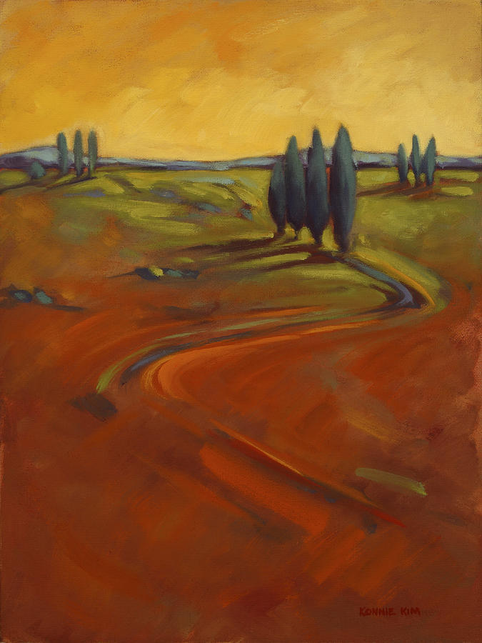 Cypress Painting - Cypress Hills 3 by Konnie Kim