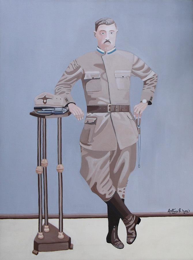 Czechoslovakia Painting - Czech Soldier by Anthony Morris