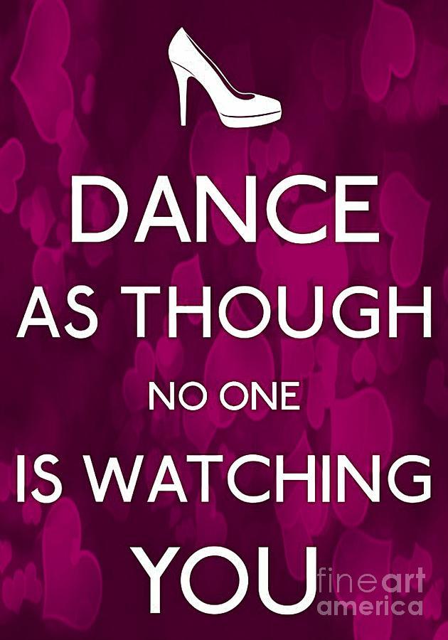 Dance Photograph - D A N C E by Daryl Macintyre