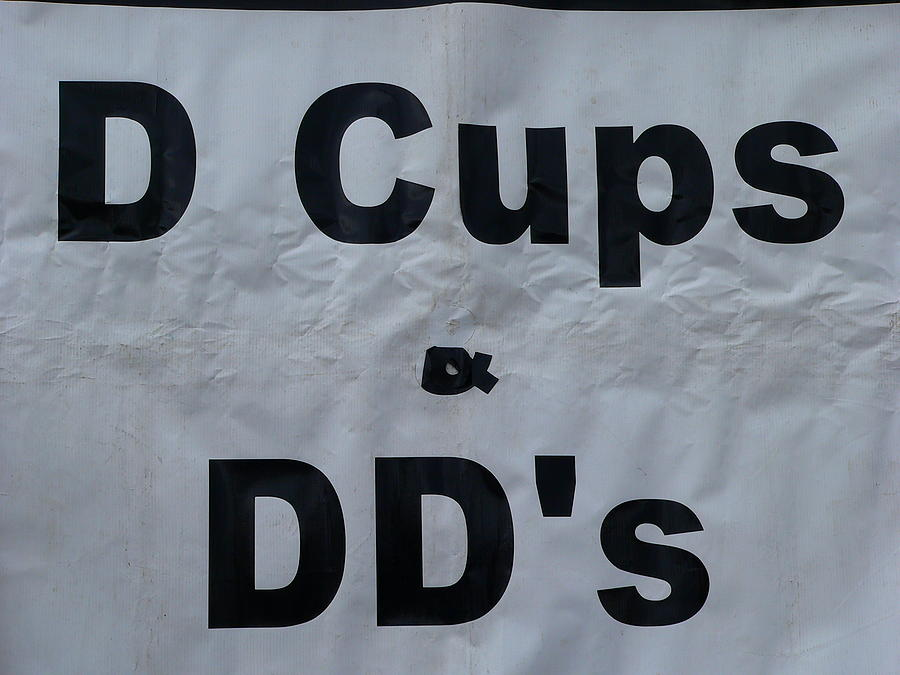 Bras Photograph - D And Dd Cups by Jeff Lowe