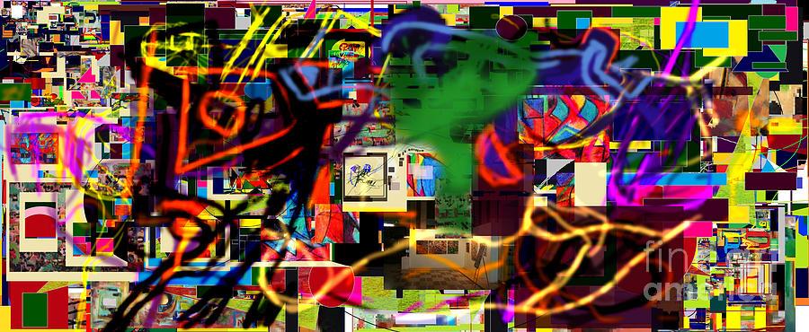 Daas Digital Art - Daas 13d by David Baruch Wolk