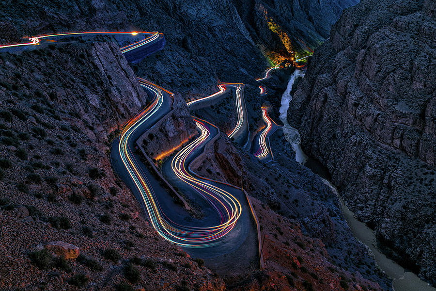 Gorge Photograph - Dada?s Gorges by Martin Steeb