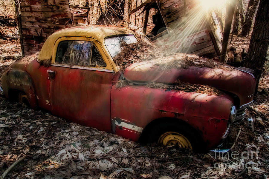 Car Photograph - Daddys Glory by Brenda Giasson