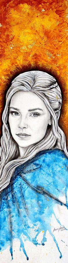 Daenerys Painting - Daenerys Targaryen by Anastasis  Anastasi