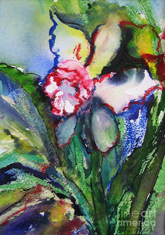 Watercolor Painting - Daffodil 6 by Gwen Nichols