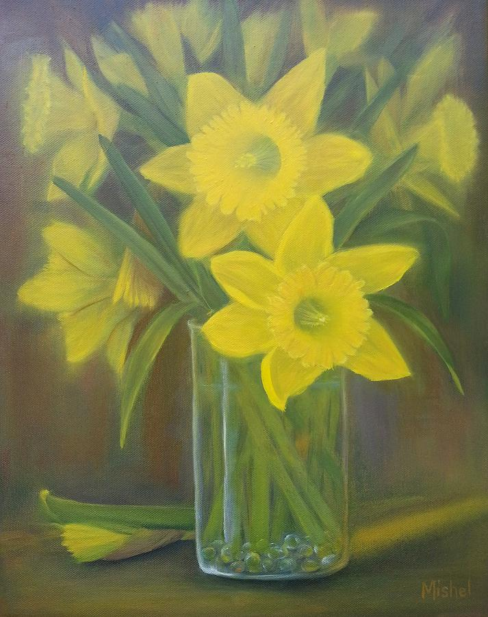 Daffodils  by Mishel Vanderten