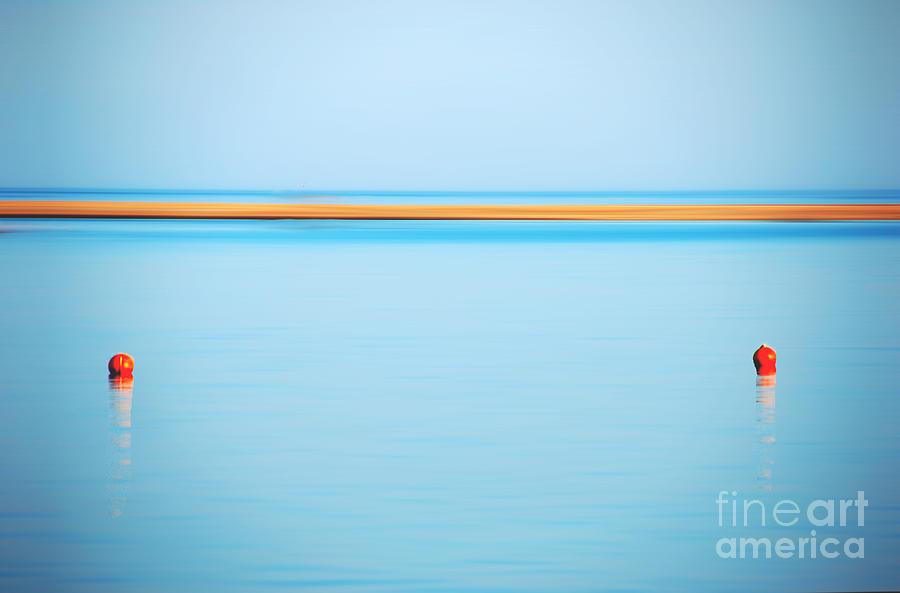 Sea Photograph - Dahab - Red Sea by Hannes Cmarits