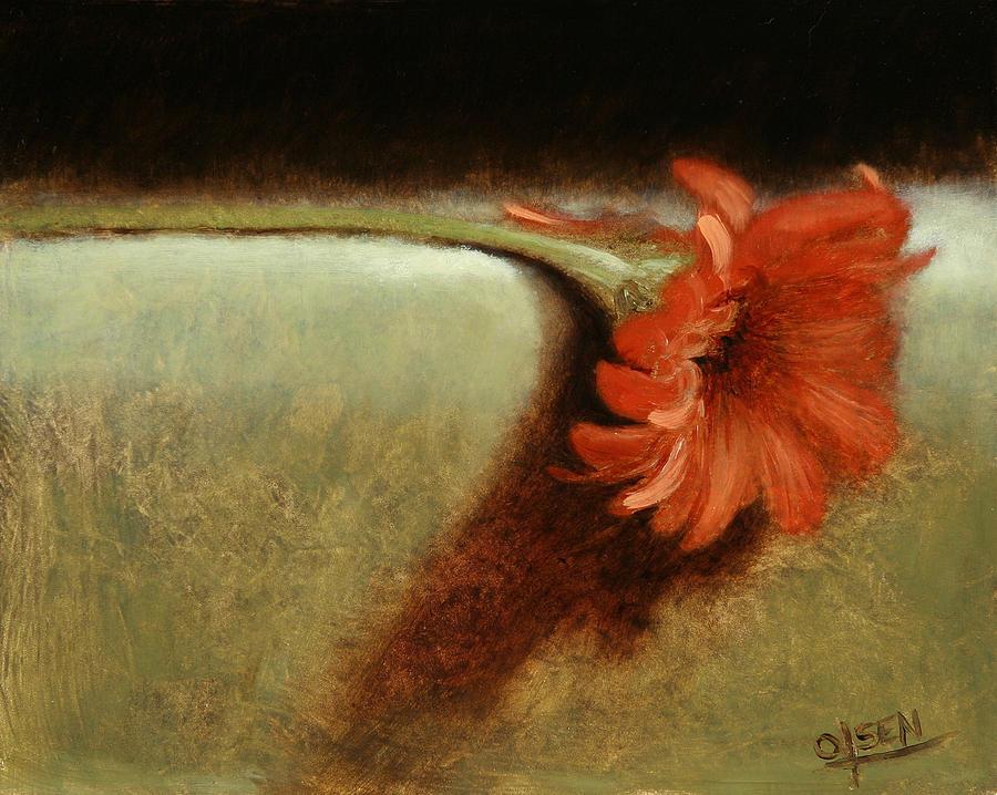 Dahlia Painting - Dahlia Flower by Christy Olsen