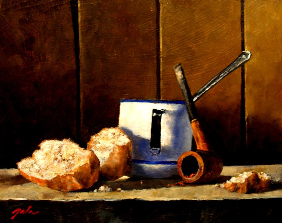 Still Life Painting - Daily Bread Ver 1 by Jim Gola