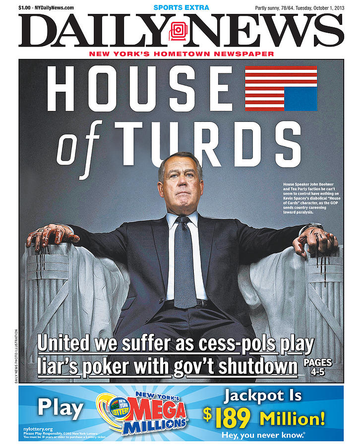 Daily News Front Page Photograph by New York Daily News