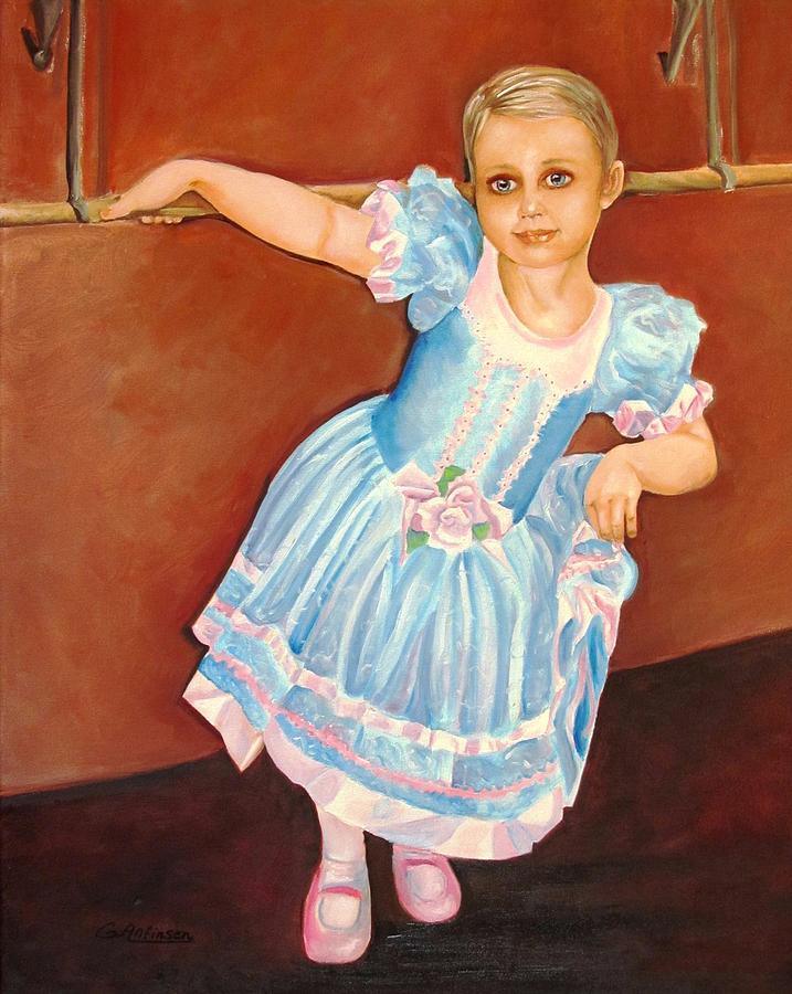 Diva Painting - Dainty Diva by Carol Allen Anfinsen