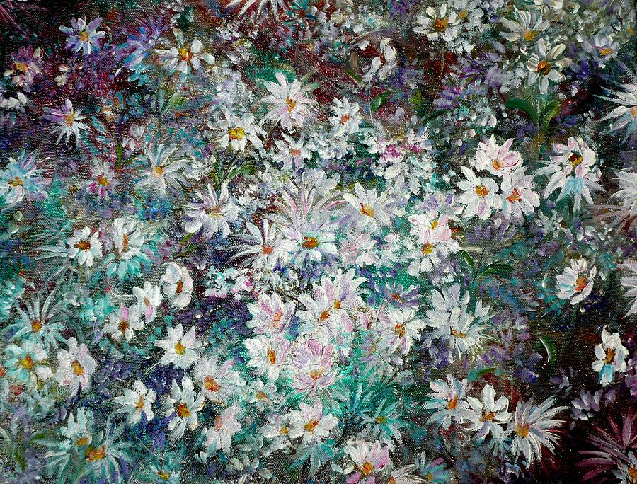 Daisy Dreamz Remix Painting by Karin  Dawn Kelshall- Best