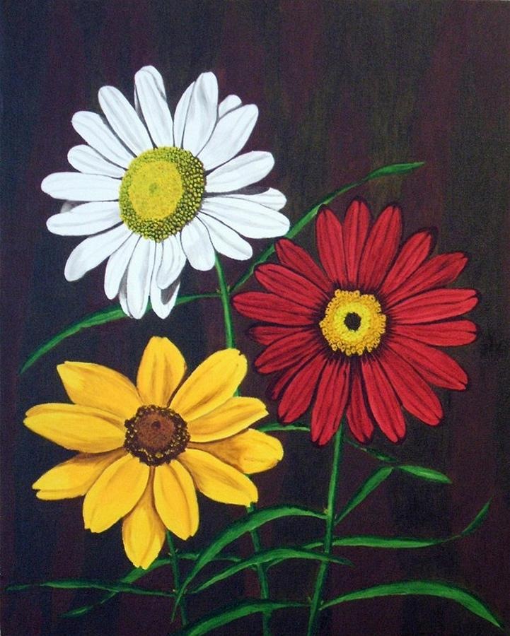 Daisy Flowers Painting - Daisy Mae by Brandy House