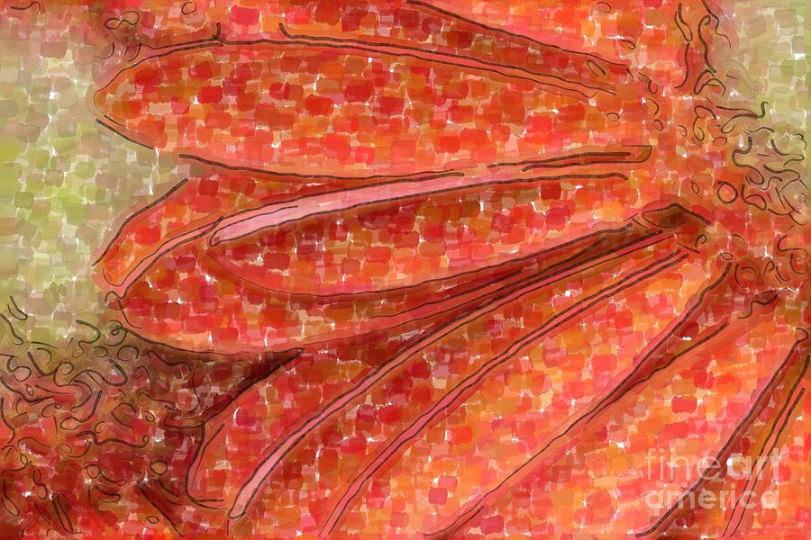 Gerber Digital Art - Daisy Watercolor by Jill Lang
