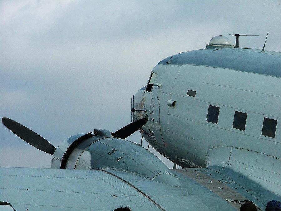 Douglas Photograph - Dakota C-47 by Philip Rispin