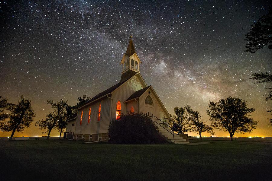 Dakota Territory Milky Way Photograph