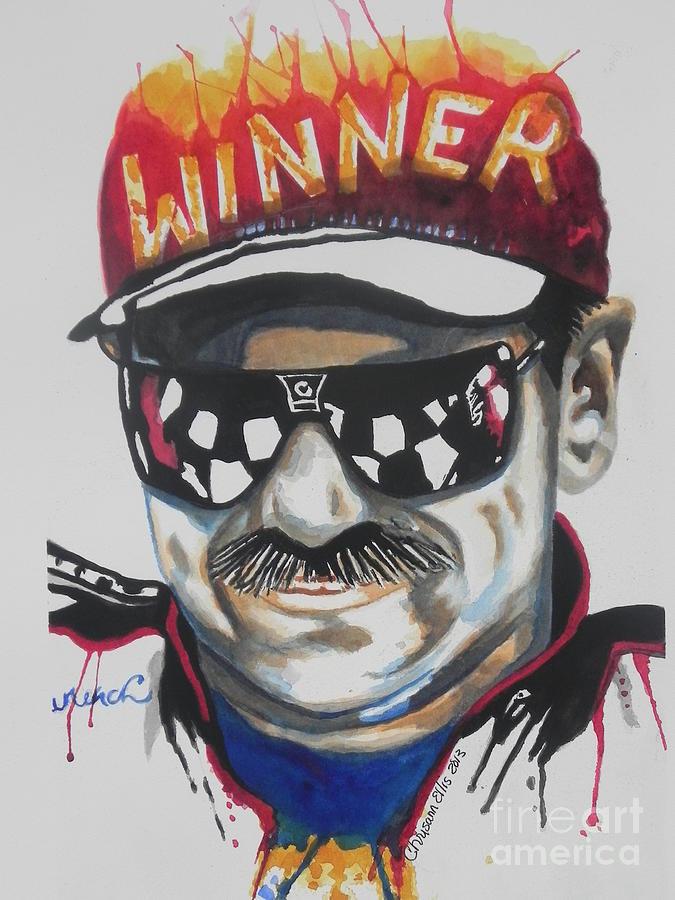 Dale Earnhardt Sr Painting