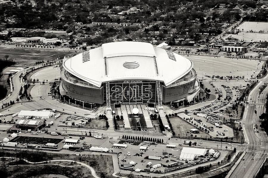 Dallas cowboys stadium arlington texas photograph by tim dahl for Dallas cowboys stadium wall mural